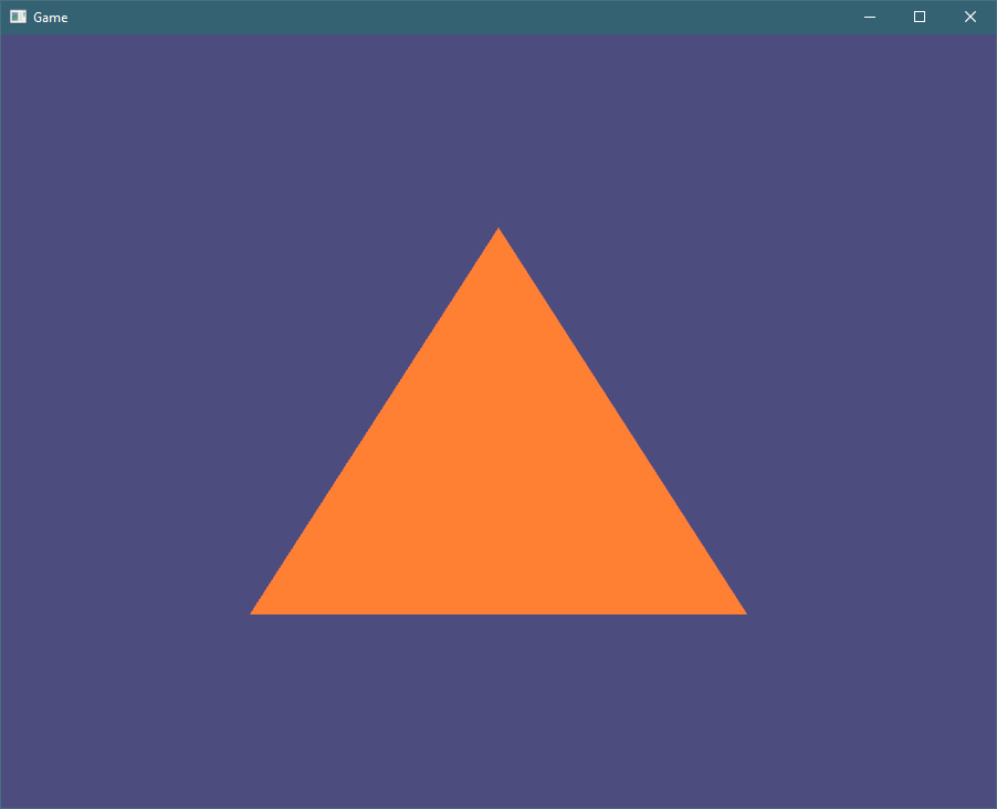 Rust and OpenGL from scratch - Triangle